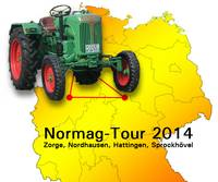 Normag-Tour 2014 Zorge, Nordhausen, Hattingen, Sprockhövel
